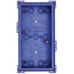 MOBOTIX Double In-Wall Housing for T24 IP Video Door Station (Blue)