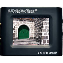 """Byte Brothers Color Mini Monitor 2.5"""""""