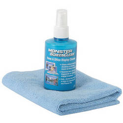 Monster Cable 122428 Essentials ScreenClean for Portable Electronics