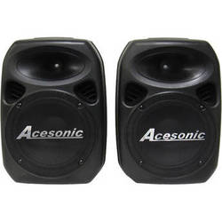 """Acesonic USA PS-420 Professional 10"""" Powered Stereo Speaker System (400W)"""