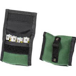 LensCoat BatteryPouch AA 4+4 (2 Pack, Green)