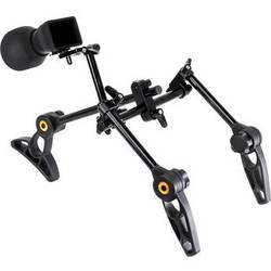 IndiPRO Tools DSLR Gunner Two-Handle Camera Rig With Viewfinder