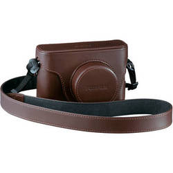 Fujifilm Leather Case for the X100/ X100S Cameras (Brown)