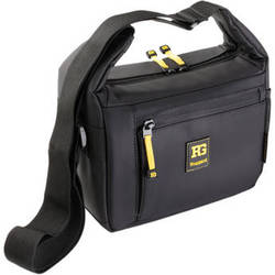 Ruggard STREAK 25 Shoulder Bag (Black with Yellow Accenting)