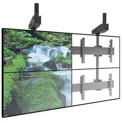 Chief FUSION Micro-Adjustable Large Ceiling Mounted Video Wall Solution (2 x 2 / Black)