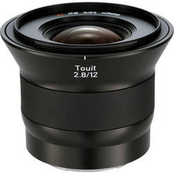 Zeiss Touit 12mm f/2.8 Lens (Sony E-Mount)
