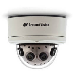 Arecont Vision SurroundVideo Series 12MP Outdoor Dome Camera with 4 Sensors