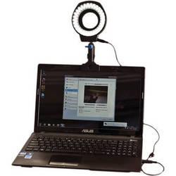 Stellar Lighting Systems WebStar II USB-Powered LED Ringlight for Webcams