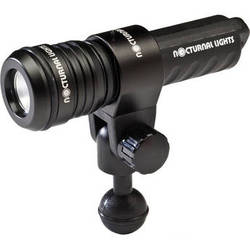 Nocturnal Lights M700i Ultra Compact Universal Underwater LED Video Light with YS Mount & Ball Joint Adapter