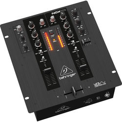 Behringer NOX101 2-Channel Pro DJ Mixer with Full VCA Control