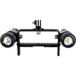 Nocturnal Lights Dual M700i Underwater Video Light System on Goodman Handle