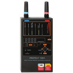 KJB Security Products Multi-Channel Detector for Wireless Protocols