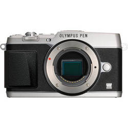 Olympus PEN E-P5 Mirrorless Micro Four Thirds Digital Camera Body (Silver)