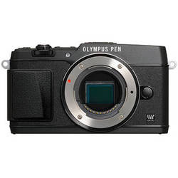 Olympus PEN E-P5 Mirrorless Micro Four Thirds Digital Camera Body (Black)