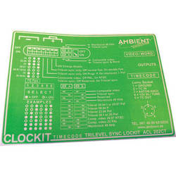 Ambient Recording Label for ACL-202CT Lockit Timecode Generator (Green)