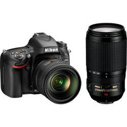 Nikon D600 Digital SLR Camera Kit with 24-85mm and 70-300mm Lenses and Accessories