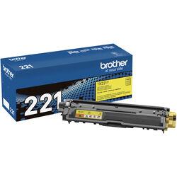Brother TN221Y Standard Yield Yellow Toner Cartridge