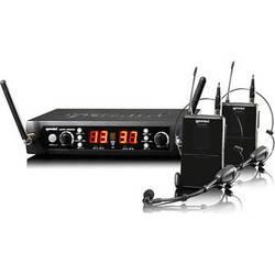 Gemini UHF-4200HL: Dual 100-Channel UHF Wireless System