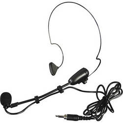 Gemini HSL-4000 Combo Headset & Lavalier Microphone with Mini XLR Plug
