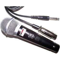 """Gem Sound GM-48 Dynamic Unidirectional Microphone with XLR to 1/4"""" Cable"""