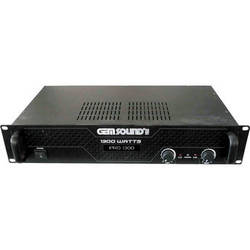 Gem Sound PRO1300 IPP 1300W Stereo Power Amplifier