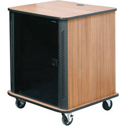 """Middle Atlantic RFR-2428CR 45"""" RFR Reference Series Furniture Rack System (Cherry Rain)"""