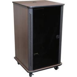 "Middle Atlantic RFR-2428TR 45"" RFR Reference Series Furniture Rack System (Teak Rain)"