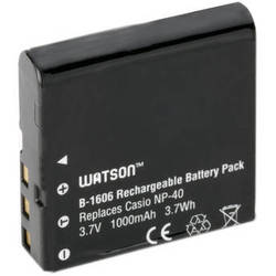 Watson NP-40 Lithium-Ion Battery Pack (3.7V, 1000mAh)