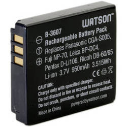 Watson CGA-S005 Lithium-Ion Battery Pack (3.7V, 950mAh)