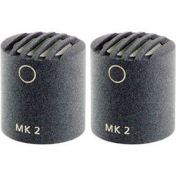 Schoeps MK2 Microphone Capsule (Matched Pair, Matte Gray)