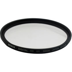 Bower 58mm Digital HD UV Filter