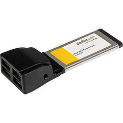 StarTech 4-Port ExpressCard USB 2.0 Adapter Card for Laptops