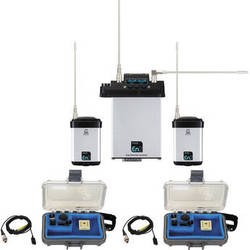 Audio Ltd. Dual miniTX Transmitter and CX2-S Receiver System with VT500 Mics (512 to 542 MHz)