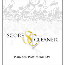ScoreCleaner ScoreCleaner - Plug and Play Notation Software (Academic 5 Seat License)