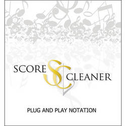 ScoreCleaner ScoreCleaner - Plug and Play Notation Software (Academic 15 Seat License)