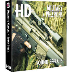 Sound Ideas Military & Weapons HD Sound Effects Hard Drive for Mac