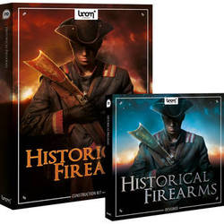 Sound Ideas Historical Firearms - Sound Effects Library Bundle (CD-ROM and DVD-ROM)