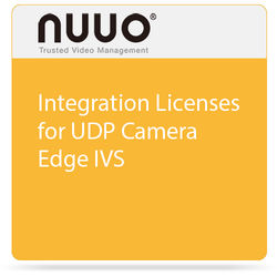 NUUO Integration Licenses for UDP Camera Edge IVS (4-Pack)