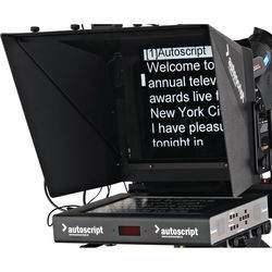 """Autoscript 15"""" High-Bright LED Teleprompter with Molded Hood"""