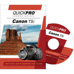 QuickPro DVD: Canon T5i Instructional Camera Guide
