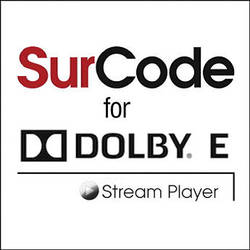 SurCode SurCode for Dolby E Stream Player Plug-In Version 2.0