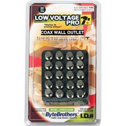 Byte Brothers 20-Piece COAX Wall Jack Mapper Kit