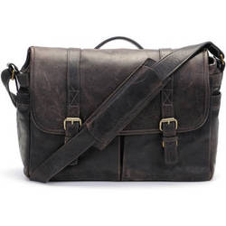ONA Brixton Camera/Laptop Messenger Bag (Leather, Dark Truffle)