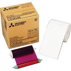 "Mitsubishi 4.0"" Paper Roll and Inksheet"