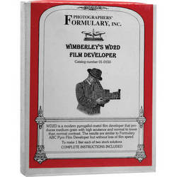 Photographers' Formulary Wimberley's WD2D Pyro-Metol Developer for Black & White Film