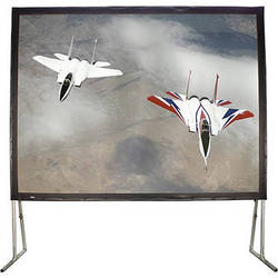 """HamiltonBuhl 123"""" Diagonal Easy Fold Portable Screen with Carry Case (16:9)"""
