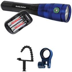 Fantasea Line Fantasea Line BlueRay Radiant Underwater Video Light Kit with Tray / Flex Arm for GoPro Camera