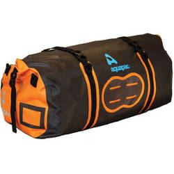 Aquapac 70L Upano Waterproof Duffel (Black, Orange)