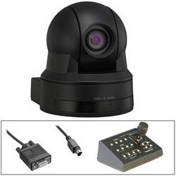 Sony PTZ SD Cam with Telemetrics Controller & RS-232 Cable Kit (Black)