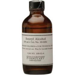 Photographers' Formulary Benzyl Alcohol - 100ml